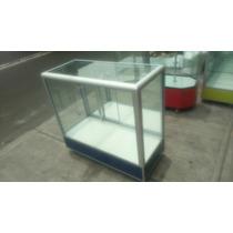 Vitrina Exhibidora Mostrador Metálicos De Aluminio