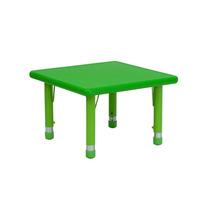 Mesa Escolar De Actividades 24 Pulgadas Verde