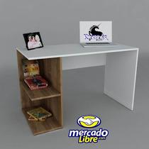 Mueble Escritorio Liber, Credenza, Archiveros, Mesas