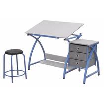 Mesa Para Dibujo Artistico Con Silla Escritorio Dibujar