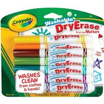 Crayola Lavable Borrado En Seco Marcadores De Colores Surtid