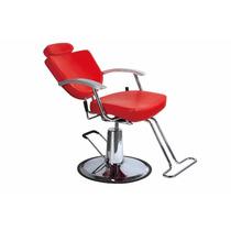 Silla Sillon Hidraulica Reclinable Peluqueria Salon Belleza