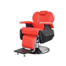 Silla Sillon Barber Shop / Estetica Peluqueros Spa Roja Eb2