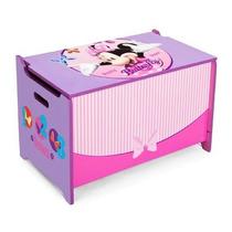 Caja De Juguetes Baul Juguetero Minnie Mouse De Disney