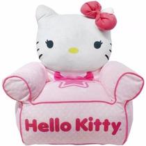 Sofa Silla Asiento Acolchado Para Niña Hello Kitty