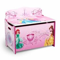 Baúl De Juguetes Deluxe Princesas