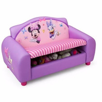 Sofa Con Almacenamiento Disney Minnie Mouse