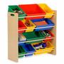 Juguetero Organizador Infantil Para Recamara Sala 12 Cajones