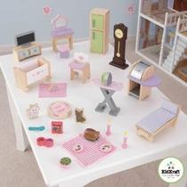 Kidkraft 28 Pc Dollhouse De Muebles