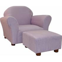 Sillón Silla Fantasy Furniture Ottoman Lavanda Para Niñas