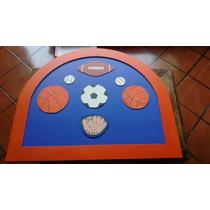 Cabecera Individual Niño Decorada Balones Futbol Deportes