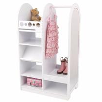 Ropero Roperito Closet Para Niña Con Espejo Kid Craft Vv4