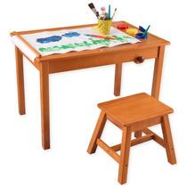 Mesa Y Banco Para Actividades De Arte Y Creativas Niños Vbf
