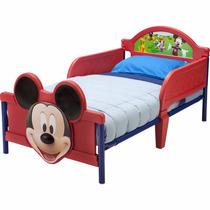 Cama Camita Infantil 3d Niño Disney Mickey Mouse