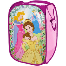 Cesto Para Ropa De Disney Princesas Vbf Niñas Casa
