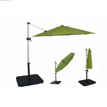 Sombrilla Poste Lateral 3 Mts Aluminio Uso Rudo Sunbrella