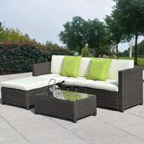 Muebles De Ratan Para Jardin Set