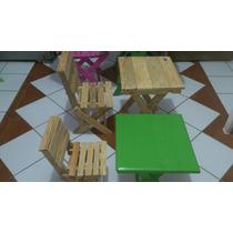 Mesas Y Sillas Plegables Para Niños