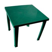 Mesa De Plastico Fram Cuadrada Verde