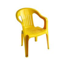 Silla De Plastico Mimo Infantil Amarillo