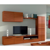 Mueble, Centro De Tv, Para Pantalla Lcd, Plana, 3d
