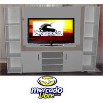 Mueble Para Television Will, Plasma, 3d, Comoda, Librero,