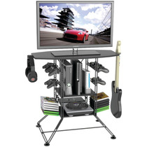 Mueble Para Almacenamiento Y Soporte Tv Y Varios Juegos Vv4