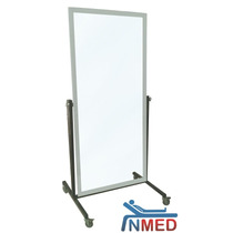 Espejo Con Base Rodable Para Rehabilitación Inmed