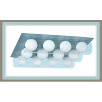 Línea Para Baño - Lámpara Moderna, 12 Esferas