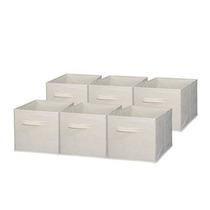 Sodynee Plegable De Tela Cubo De Almacenamiento Cesta Papele