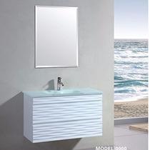 Odbo Ml-1018 Mueble Para Baño Con Llave Y Espejo