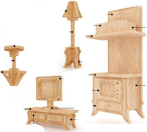 Muebles en miniatura para casas de munecas hd 1080p 4k foto for Muebles casa de munecas