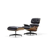 Autentico Herman Miller Eames Silla Con Otomana