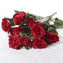 Hermosa Y Vida Artificial Como Surtido Red Rose Bouquet Perf