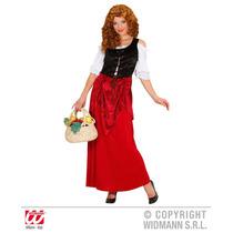 Traje De Moza - Tavern (m) (vestido) Fiesta De Disfraces