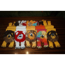 Bufanda León Tejida Crochet