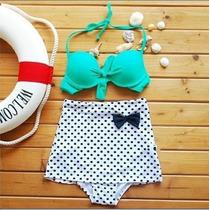 Trajes De Baño Retro Vintage Bikini