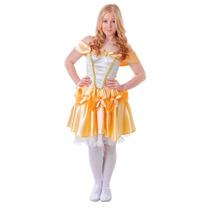 Princesa Traje - Belle Niñas Adolescente Vestido De Lujo De