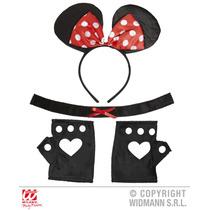 Micky Mouse Traje - Orejas De Implantación Gargantilla Guan