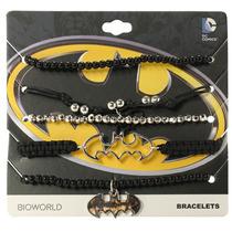 Hot Topic Pulsera Batman Dc Comics Bead Bracelet 5 Pack