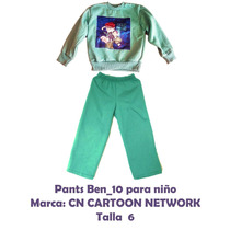 Pants De Ben 10 Niño 5 Años