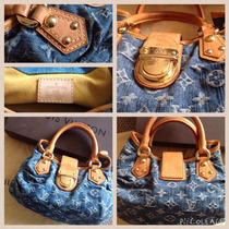 Bolsa Louis Vuitton 100% Original Lvdenim Speedy Garantizado