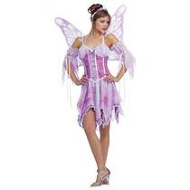 Disfraz Hada -x Pequeño Xs Púrpura De La Mariposa