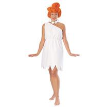 Flinstones Traje - Señoras Wilma Picapiedra Vestido De Lujo