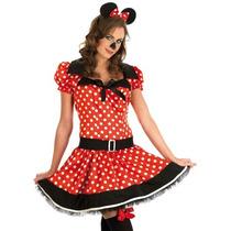 Mini Mouse Traje - Señoras Minnie Vestido De Lujo Atractivo