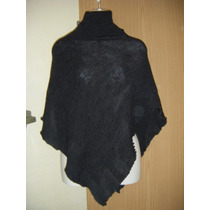 Poncho Gris Marca New Wave