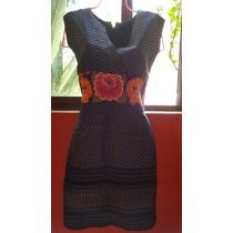 Vestido Tipico Con Bordado Del Istmo De Oaxaca