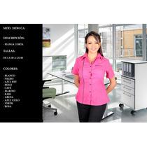 Blusas Camisas Blusa Para Dama Ejecutiva Uniformes