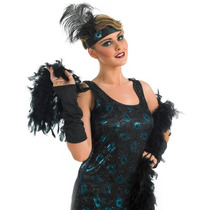 1920s Flapper Costume - Party Dress Xs - Señoras Retro Girl