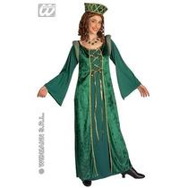 Traje Medieval - Renacimiento Señoras Vestido De Lujo De Nu